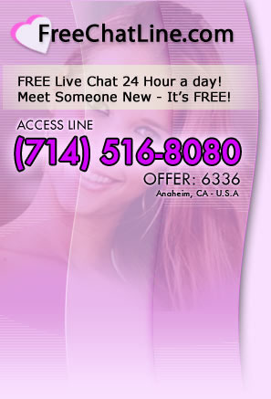 free chat line for men